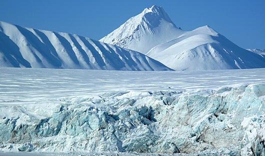 Glacier Svalbard