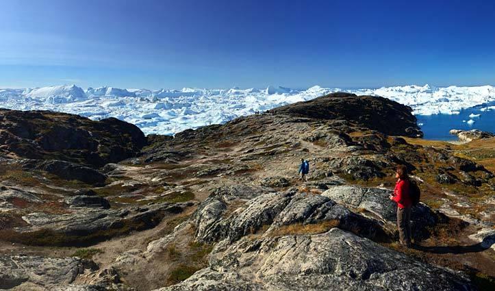 Cinzia Greenland Ice Flow