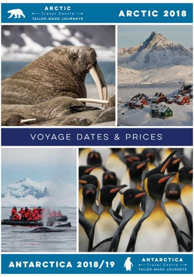 2018-19 Antarctica and Arctic dates and prices cover