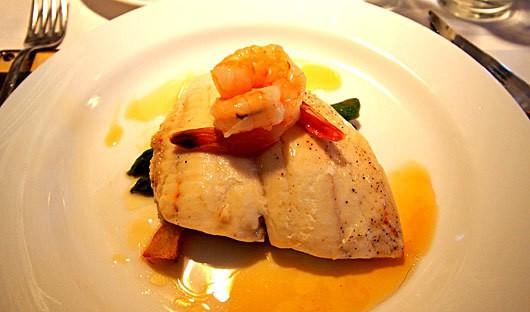 Fresh fish dinner