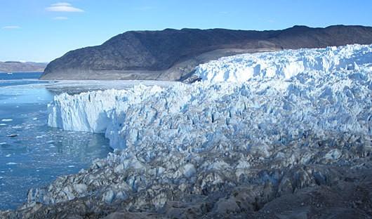Glacier hike Greenland