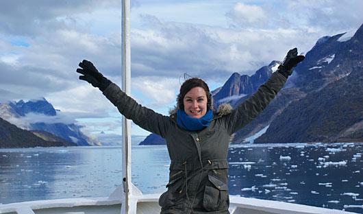 Fiona Arctic Greenland Fjord