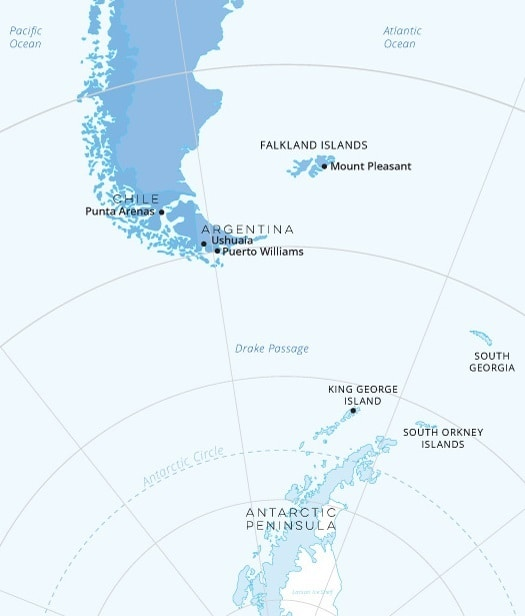 south-america-antarctica-peninsula-south-georgia-falklands-map ...