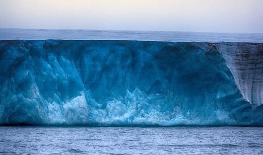Glacier Franz Joseph land