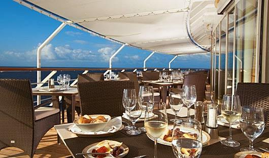 La Terrazza Dining Silver Cloud