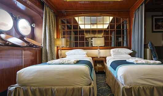 Sea Spirit Main Deck Suite Beds