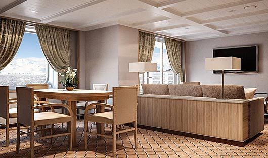 Silver Cloud Owners Suite Dining
