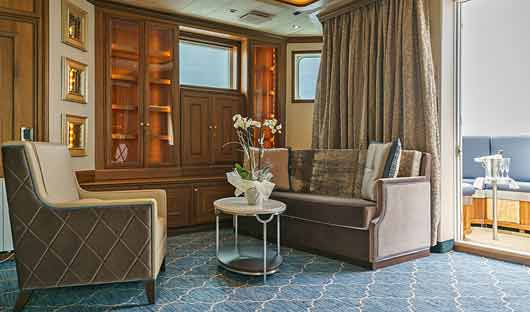 Sea Spirit Owners Suite Lounge