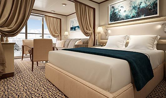 Silver Cloud Veranda Bed and Lounge
