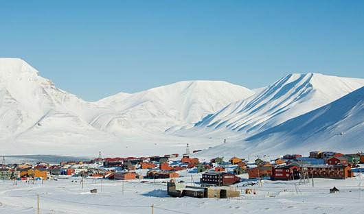 Longyearbyen Spitsbergen Svalbard