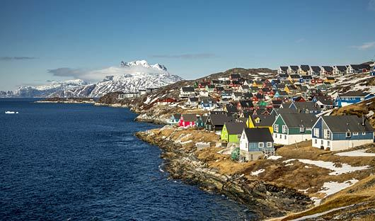 Nuuk Greenland Coast