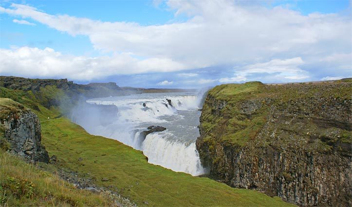 Gullfoss Waterfall Iceland Golden Circle Tour