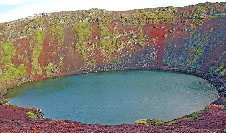 Kerio Crater Iceland Golden Circle Tour