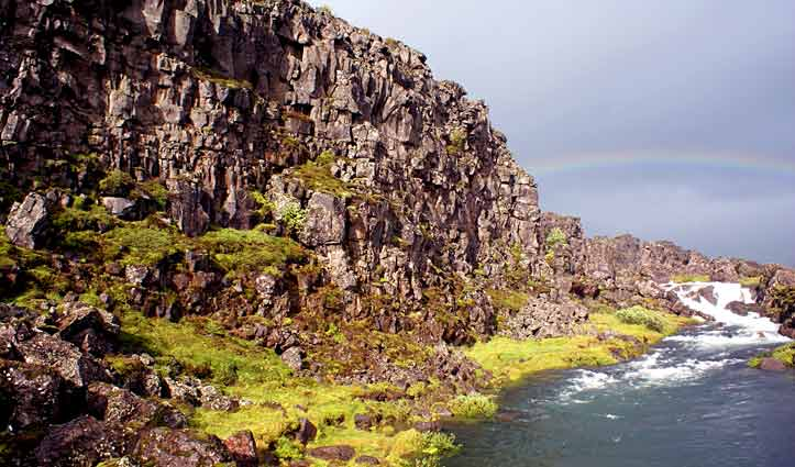 Tectonic plates Iceland Golden Circle Tour