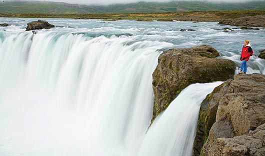 National Geographic Explorer waterfall Iceland