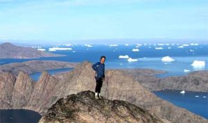 Rock Climbing Greenland Greg Mortimer