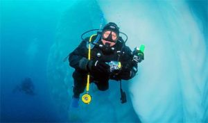 Scuba Diving Greg Mortimer