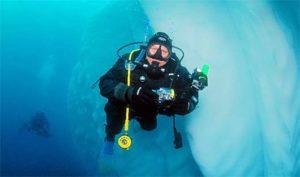 Scuba Diving Greg Mortimer