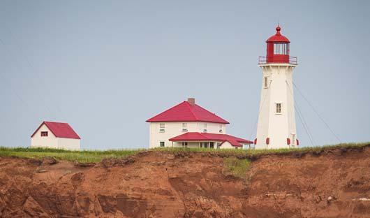 Lighthouse, East Canada