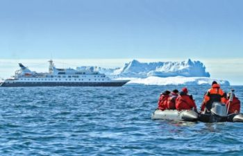 National Geographic Orion. Antarctica.