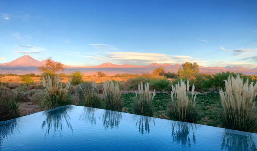 Pool with a view- Atacama, Chile by Peter Carlisle