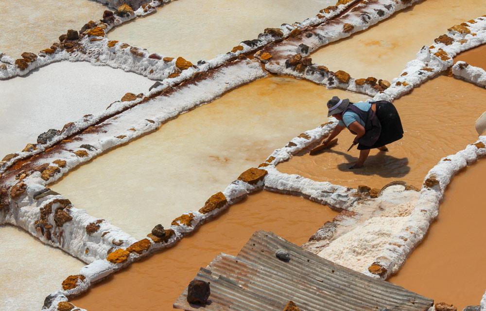 Salt Ponds of Maras- Peru by Michelle Feros