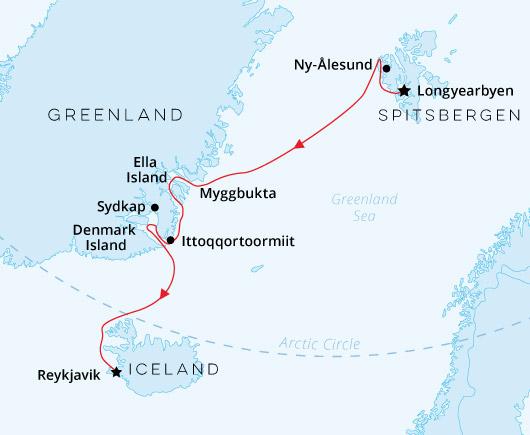 Sea Spirit Spitsbergen Greenland Iceland