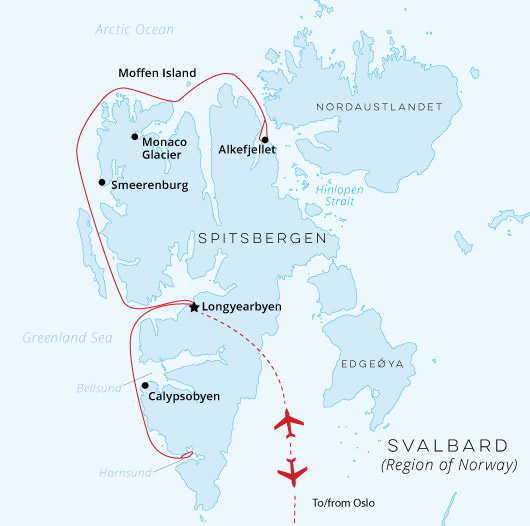 Introduction to Spitsbergen Cruise