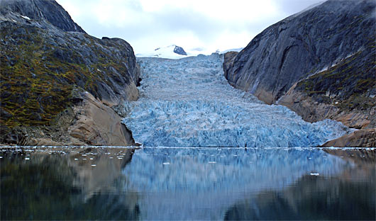 Lindenow Fjord Glacier