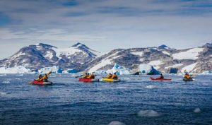 Paddling Arctic World Explorer
