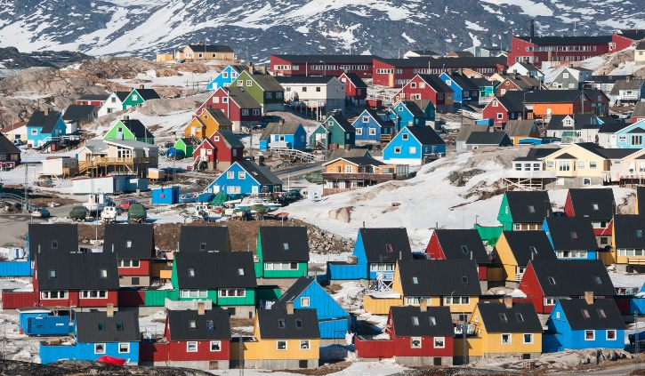 Colourful Houses, Greenland