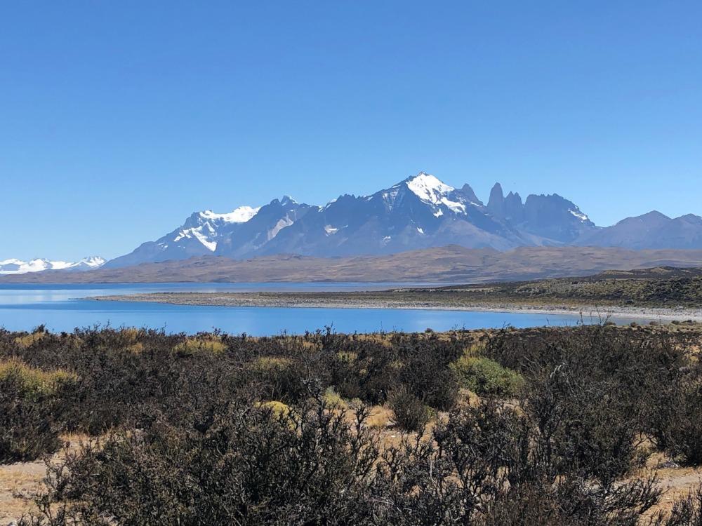 Patagonia Mountains by Hugh McKay