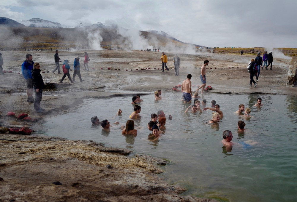 Geyser and Hot Springs in Atacama by Joseph Reich