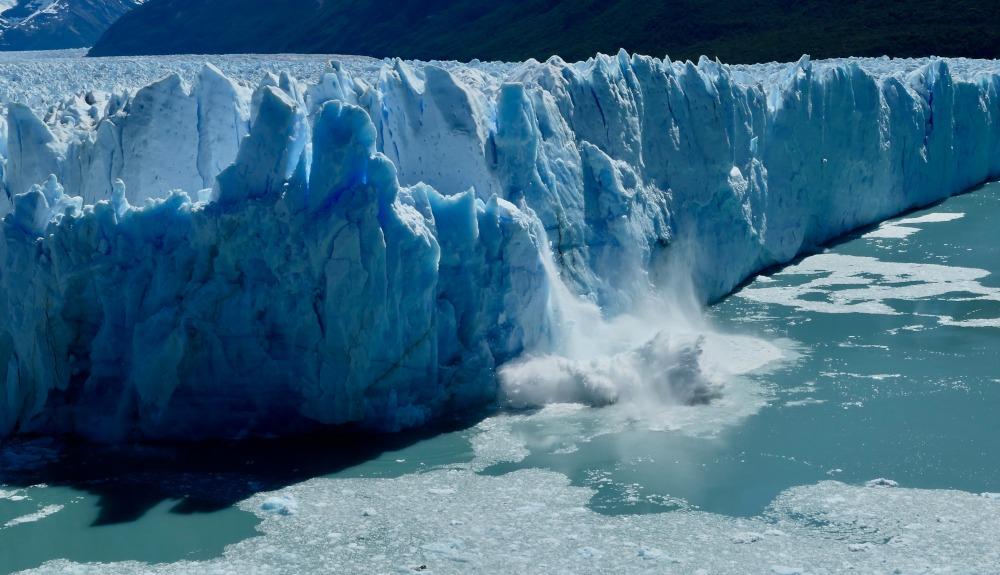 Moreno Glacier Calving, Patagonia by Joseph Reich
