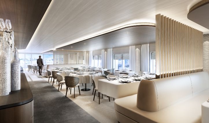 Dining Room Render Le Commandant Charcot