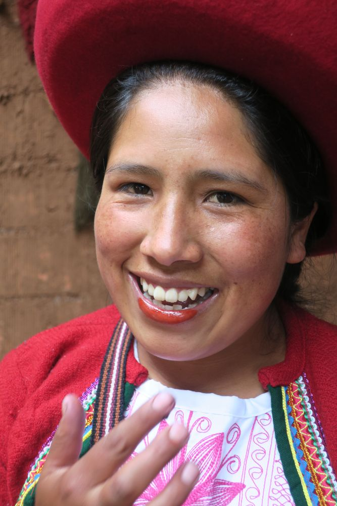 Cochineal Lipstick Chinchero Sacred Valley, Peru by Janet Keefe