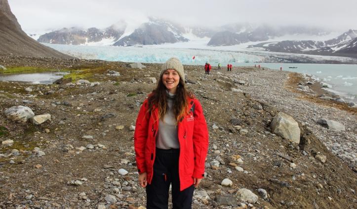 Mikki in Arctic