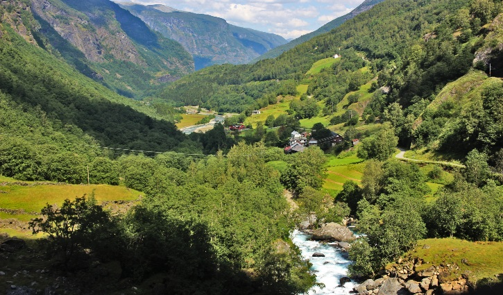Norway- Flamsbana