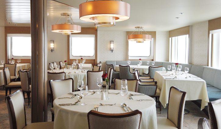 Greg Mortimer Dining room