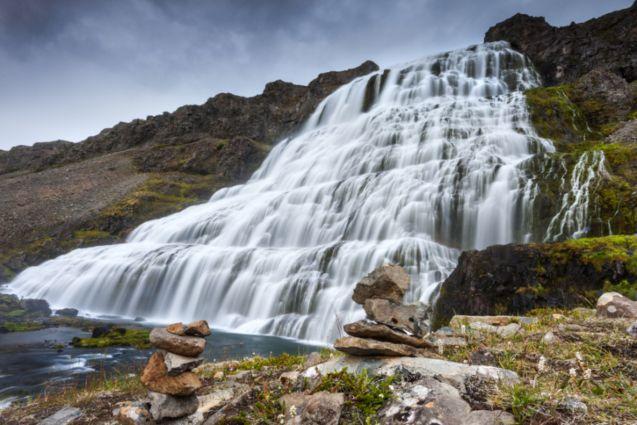 Dynjandi foss waterfall