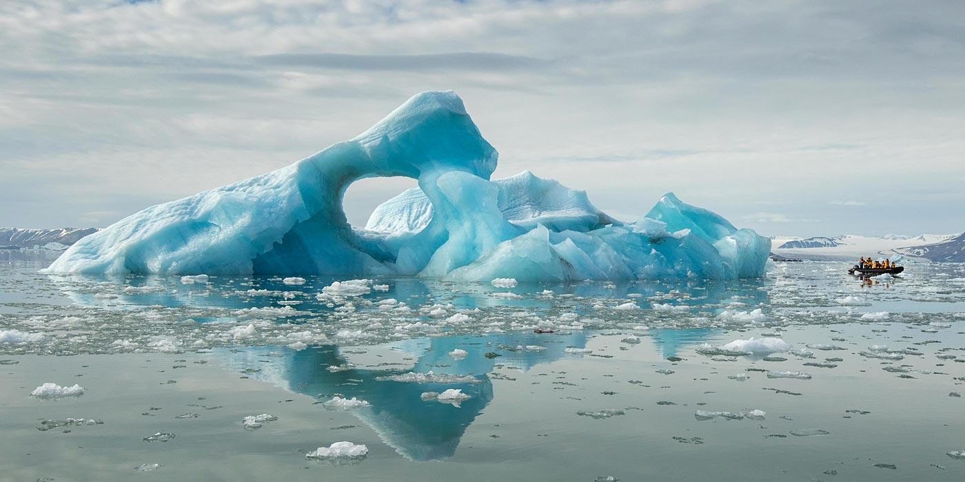 Quark Only Iceberg in Spitsbergen