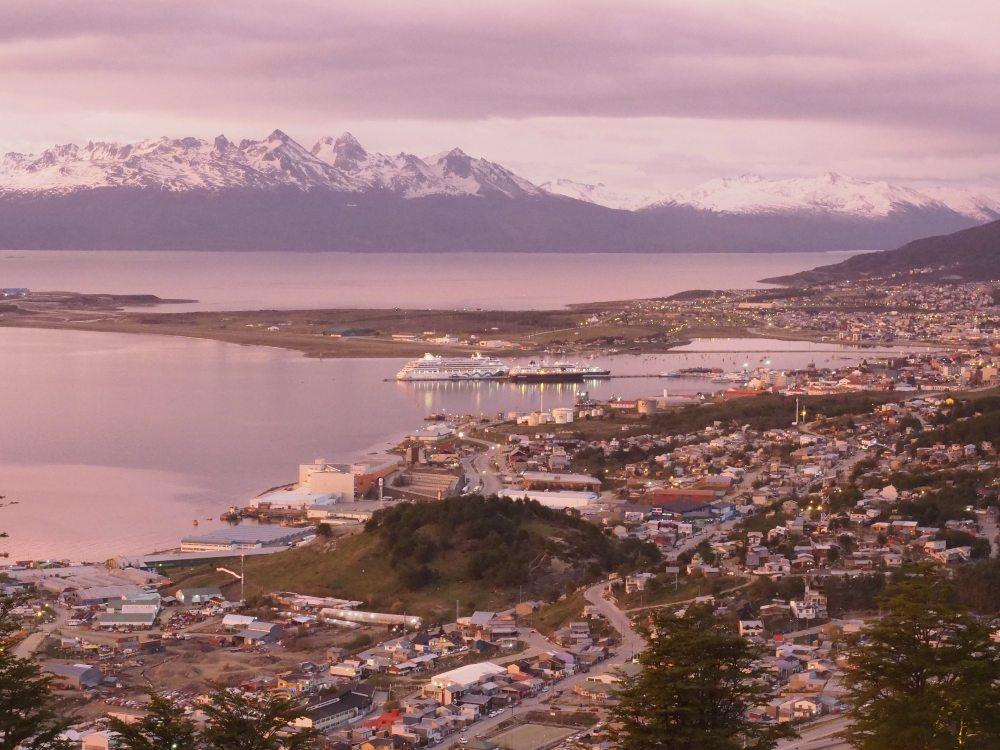 Ushuaia at dawn by Chris James