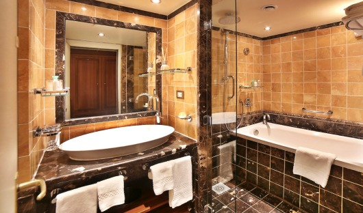 Silver Suite - Medallion Bathroom