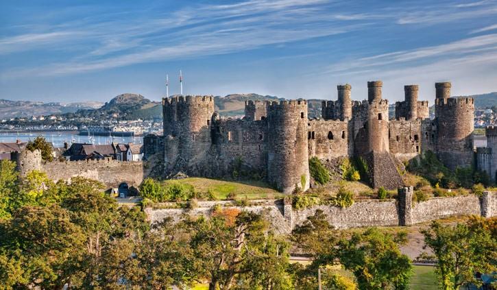 Conwy Castle Wales shutterstock_223825090
