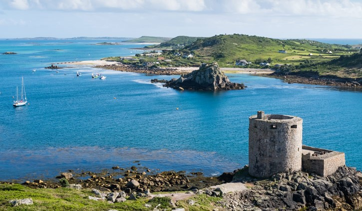 Cromwell Castle Tresco Island Scilly Islands shutterstock_664005454