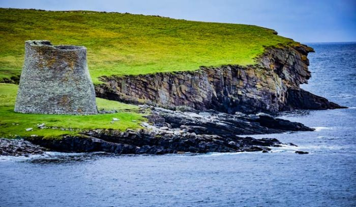 Mousa Brock Shetland Islands Scotlan