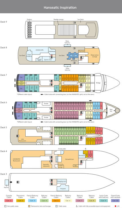 Deckplan hanseatic inspiration with title