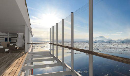 Glass balcony HANSEATIC inspiration