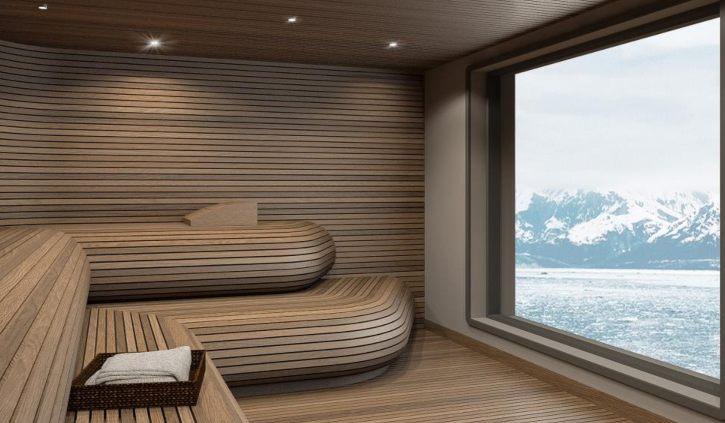 Ultramarine Sauna