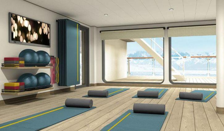 Yoga Room - Ultramarine